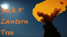 JACK O'LANTERN Tree! Minecraft Map & Project