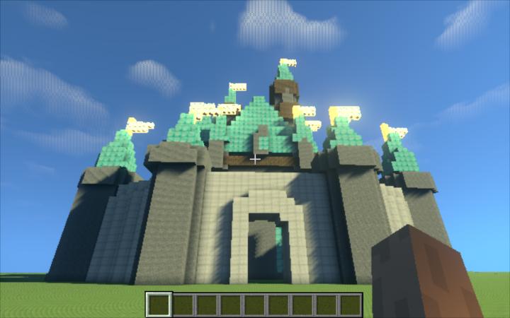 Sleeping Beauty Castle Minecraft Project