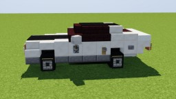 Dodge Challenger Minecraft Map & Project