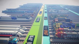 World One Developmental Facility 150+ Trains Minecraft Map & Project