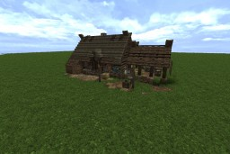 Anglo Saxon Style Home with Conquest Reforged 1.12 Minecraft