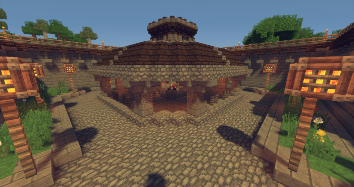 The Enchantment Hut.