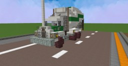 Mack DM series Cement Mixer V2 Minecraft Map & Project