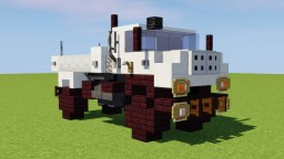 Mercedes-Benz Unimog Minecraft Map & Project