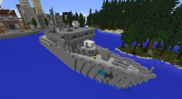 Navy Cruiser Minecraft Map & Project