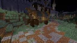 Merchant Wagon Minecraft Map & Project