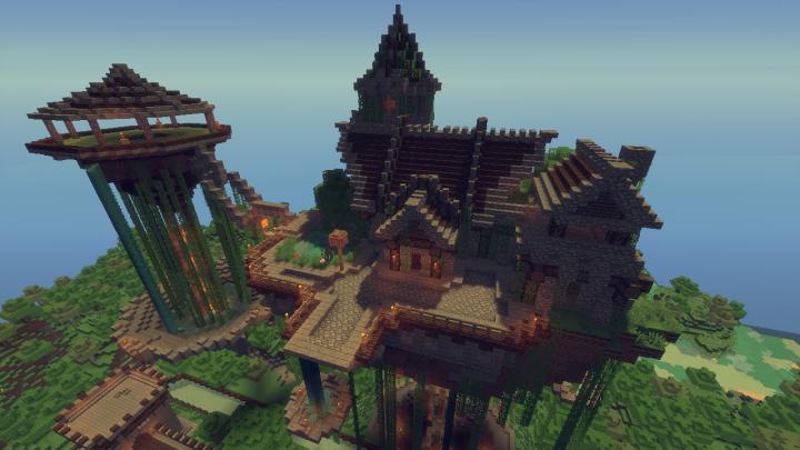 ...the floating Vampire Hut.