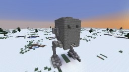 AT-ST- Star Wars Empire Strikes Back Minecraft Map & Project