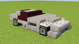 Mercedes-Benz SLR McLaren Minecraft Map & Project
