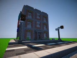 Simple brick apartaments Minecraft