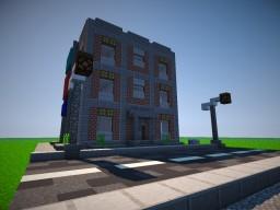 Simple brick apartaments Minecraft Map & Project