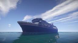 MV Balmoral I Fred Olsen Cruise Line Minecraft