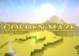 GOLDEN MAZE! 1.13 Puzzle Map! Minecraft Map & Project
