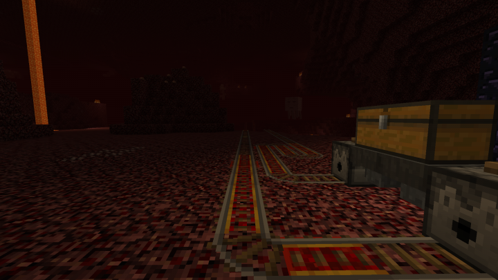 The Nether. Everyone's favorite part. This part is just riding a minecart to the next portal, but will it be a safe journey...?