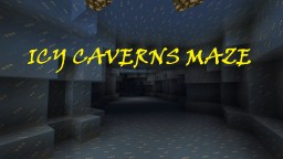 ICY CAVERNS MAZE! - HARD! Minecraft Map & Project