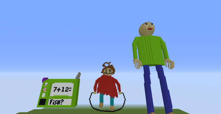 baldi basics in burning is that correct no burn it minecraft project
