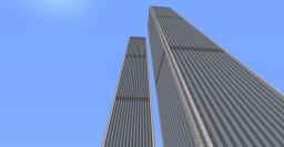 World Trade Center 1:2 2001 Minecraft Map & Project