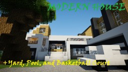 MODERN HOUSE Design! DOWNLOAD Minecraft Map & Project