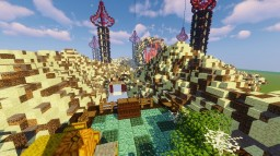 Dounat (Elytra Race Course) Minecraft Map & Project