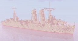 Wadsworth Class Destroyer (Fictional US Destroyer) Minecraft