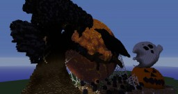 Halloween Build Minecraft Map & Project