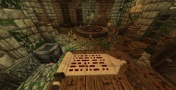 Room of the black witch Minecraft