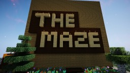 WOODEN FENCE MAZE! Minecraft Map & Project