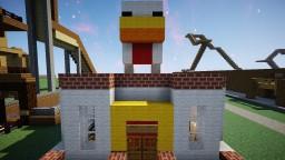 ROASTED CHICKEN RESTAURANT! Minecraft Map & Project