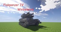 Flakpanzer IV Wirbewind Minecraft Map & Project