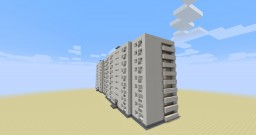 Typical residential building series II-68-02/12K/Типовой жилой дом серии II-68-02/12К Minecraft