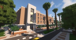 Billings Academic Building: Greenfield Eastern University Minecraft Map & Project