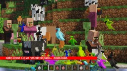 Mobs Come Alive Minecraft Texture Pack
