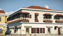 50 Calle de Ayos, Cartagena de Indias, Colombia Minecraft Map & Project