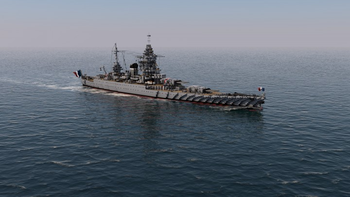 Popular Project : French Battleship Dunkerque 1:1