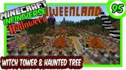 """""""Witch Tower, Houses & Haunted Tree"""" [95] Minecraft Bedrock Infiniverse Minecraft Map & Project"""