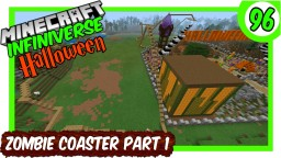 """Zombie Spawner Rollercoaster Part 1"" Minecraft Map & Project"