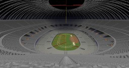 Building athletics stadium (new update every week) Minecraft