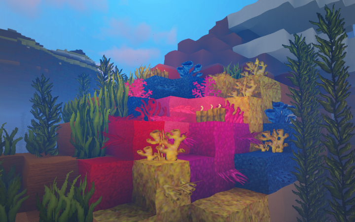 Update 1.13 Blocks like Coral Included!