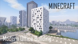 Modern Office Building 5 (full interior) Minecraft