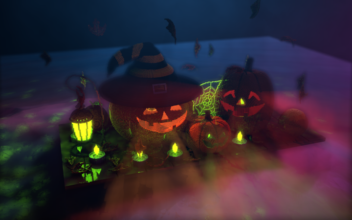 "Popular Project : halloween ""Autumn still life"""