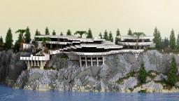 | Reven Mansion | Fictional Stark Mansion | Version 1.12.2 | Minecraft