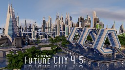 Future CITY 4.5 Minecraft Map & Project