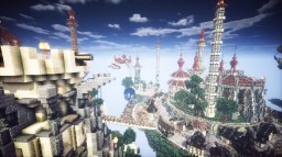 ISLAND CITY Minecraft Map & Project