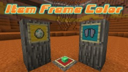 Item Frame Color DataPack (1.15) Minecraft Data Pack