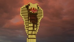 Golden idol of the god cobra Minecraft Map & Project