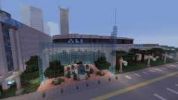 ALI FORUM (Fictional Basketball Arena) Minecraft Map & Project