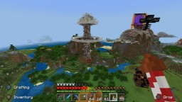 Nuclear Mushroom Cloud Minecraft Map & Project
