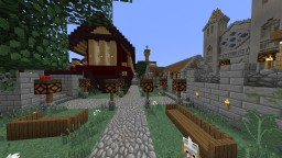West Gate Square Minecraft Map & Project