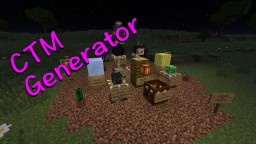 CTM Generator DataPack for 1.13+ Minecraft Map & Project
