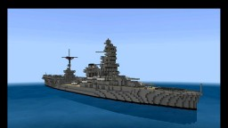 IJN Ise Japanese bb 1:1 scale Minecraft